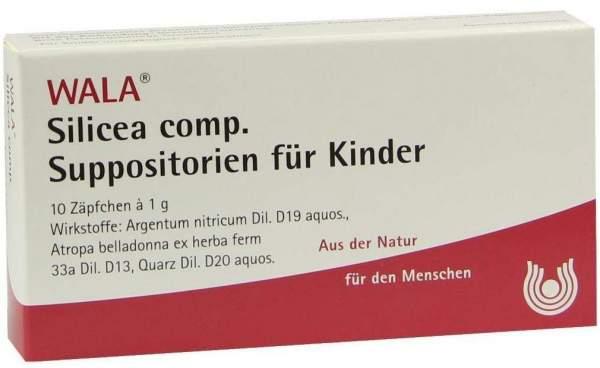 Silicea Comp. Suppositorien Für Kinder