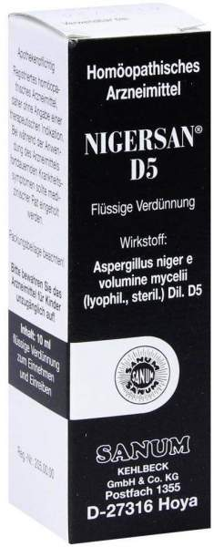 Nigersan D5 10 ml Tropfen