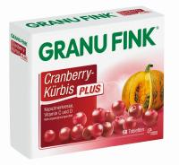 Granu Fink Cranberry Kürbis Plus 60 Tabletten
