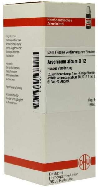 Arsenicum Album D 12 50 ml Dilution
