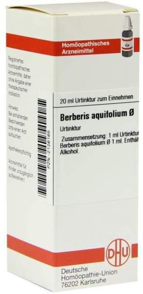 Dhu Berberis Aquifolium Urtinktur