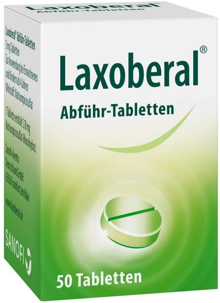 Laxoberal Abführ-Tabletten 50 Stück
