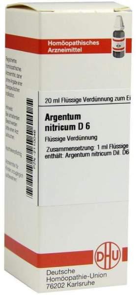 Argentum Nitricum D6 20 ml Dilution