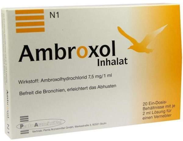 Ambroxol Inhalat 20 X 2 ml Inhalationslösung