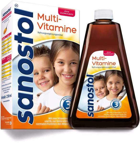 Sanostol Saft Multivitamin 230 ml