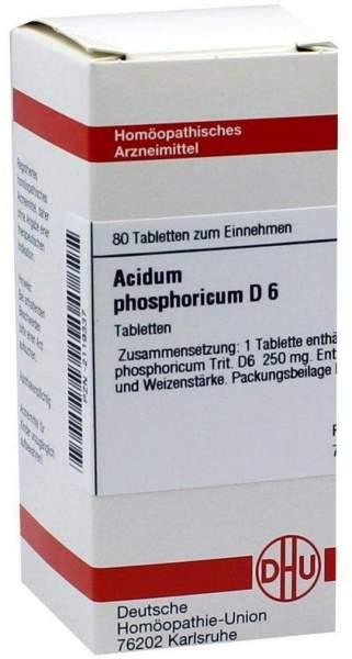 Acidum Phosphoricum D6 80 Tabletten