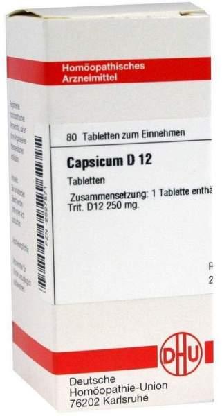 Capsicum D 12 Tabletten