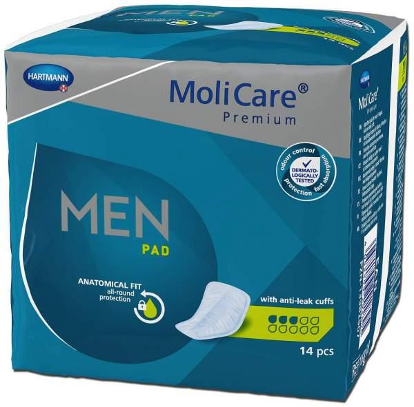 MoliCare Premium Men Pad 3 Tropfen 14 Stück