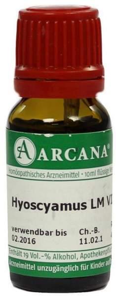 Hyoscyamus Lm 6 Dilution 10 ml