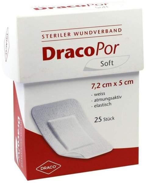Dracopor Wundverband 7,2x5cm Steril 25 Stück
