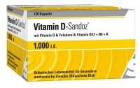 Vitamin D Sandoz 1000 I.E