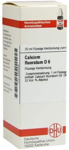 Calcium Fluoratum D 6 20 ml Dilution
