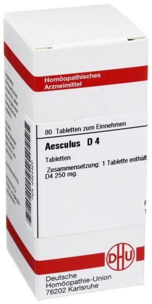 Aesculus D 4 80 Tabletten