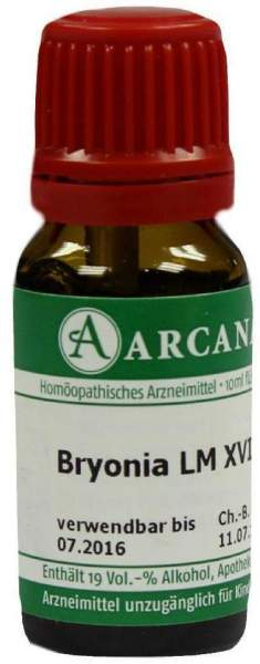 Bryonia Lm 18 Dilution 10 ml