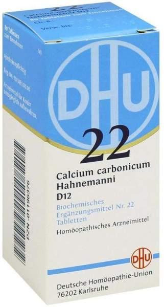 Biochemie Dhu 22 Calcium Carbonicum D12 80 Tabletten
