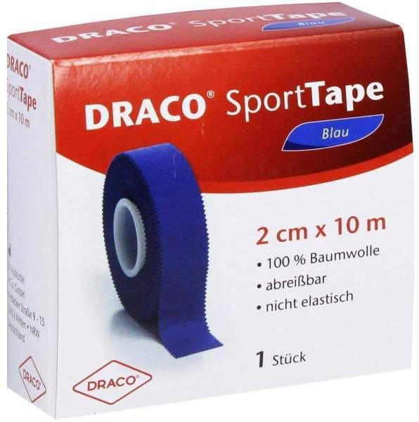 Draco Sporttape 1 Tapeverband 10 M X 2 cm Blau