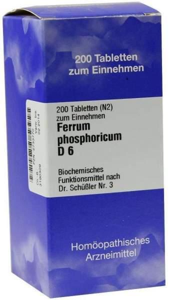 Biochemie Iso 3 Ferrum Phosphoricum D6 200 Tabletten