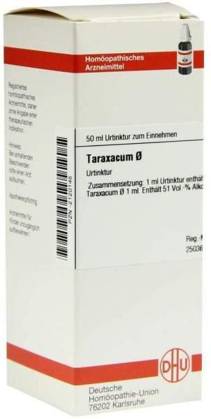 Taraxacum Urtinktur 50 ml Dilution