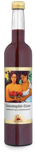 Granatapfel Elixier Dr.Jacobs 500 ml