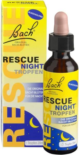 Bach Original Rescue Night Tropfen 20 ml alkoholfrei