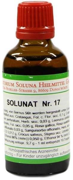 Solunat Nr. 17 50 ml Tropfen