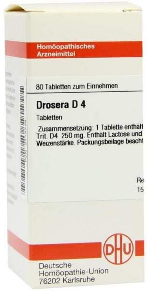 Drosera D 4 80 Tabletten