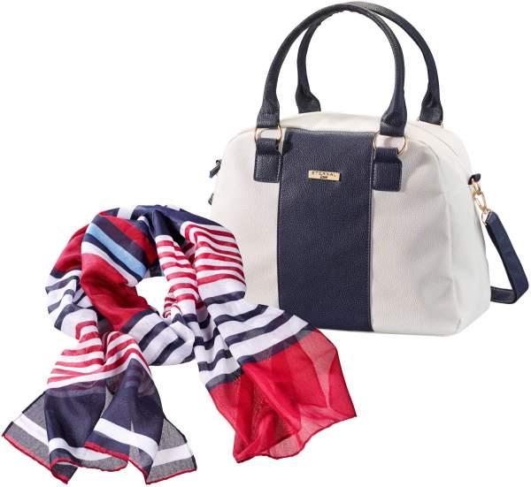 Tasche und Tuch Set