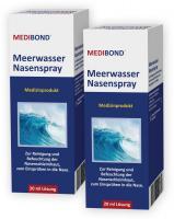 Medibond Meerwasser Nasenspray Doppelpack