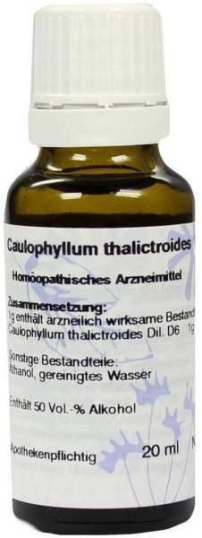 Caulophyllum D 6 Dilution 20 ml