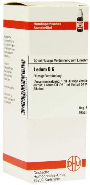 Ledum D 6 50 ml Dilution