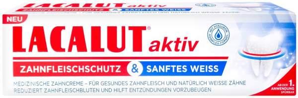 Lacalut Aktiv Zahnfleischschutz & Sanftes Weiss 75 ml Zahnpasta