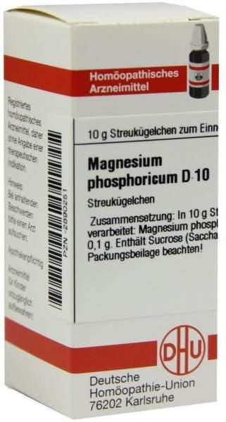 Magnesium Phos. D10 10 G Globuli