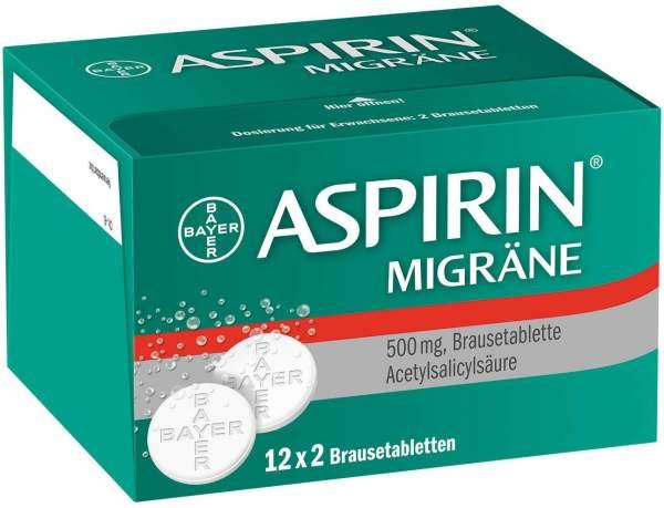 Aspirin Migräne 24 Brausetabletten