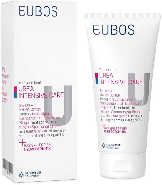 Eubos Trockene Haut Urea 5% 200 ml Hydro Lotion