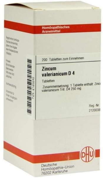 Zincum Valerianicum D4 Tabletten 200 Tabletten