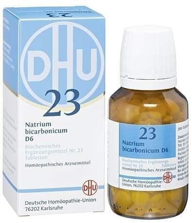 Biochemie DHU 23 Natrium bicarbonicum D6 80 Tabletten