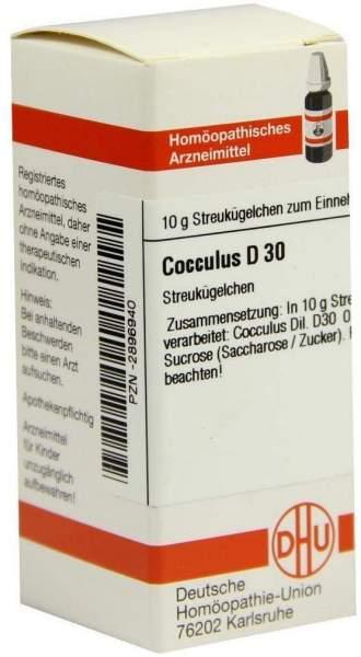 Cocculus D30 10 G Globuli