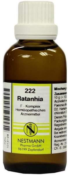 Ratanhia F Komplex Nr. 222 50 ml Dilution
