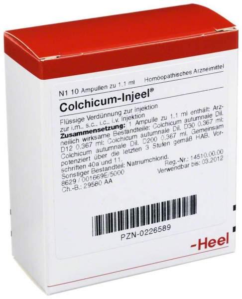 Colchicum Injeel Ampullen 10 Ampullen