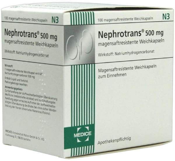 Nephrotrans 100 Magensaftresistente Kapseln