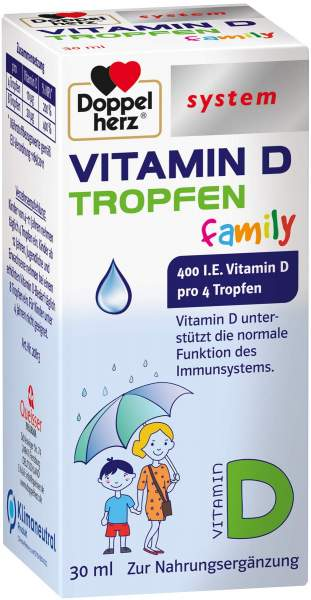 Doppelherz system Vitamin D Tropfen family 30 ml