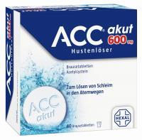 ACC akut 600 mg Hustenlöser 40 Brausetabletten