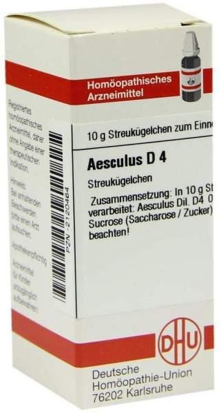 Aesculus D4 10 G Globuli
