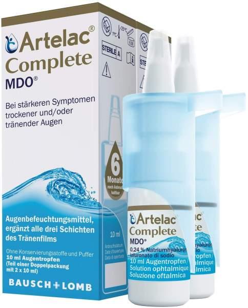 Artelac Complete MDO 2 x 10 ml Augentropfen
