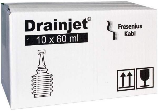 Freka Drainjet Fresenius 10 X 60 ml Kochsalzlösung 0,9%