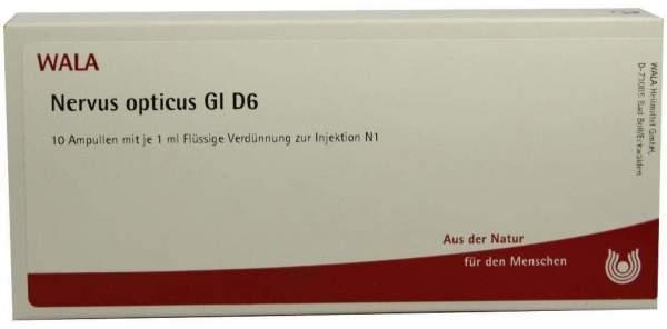 Nervus Opticus Gl D 6 Ampullen 10 X 1 ml