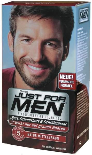 Just For Men Brush Bürste Farbgel Mittelbraun 28,4 ml Gel