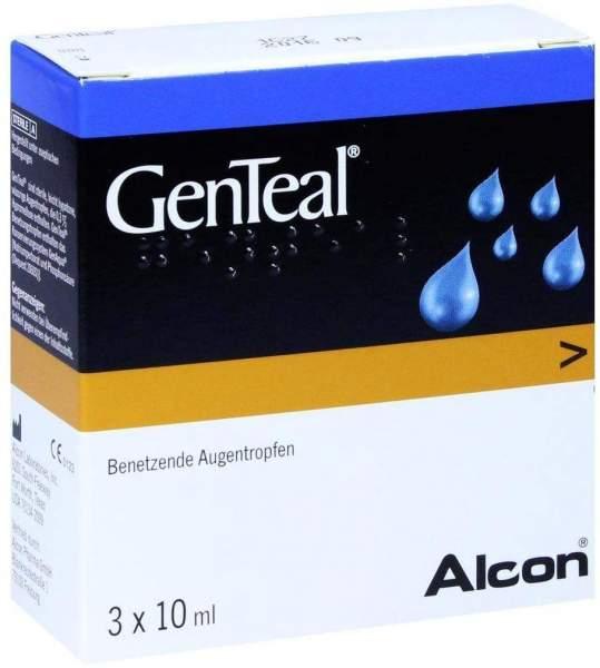 Genteal Augentropfen 3 X 10 ml