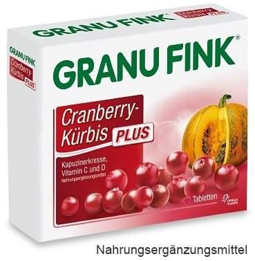 Granu Fink Cranberry Kürbis Plus 120 Tabletten