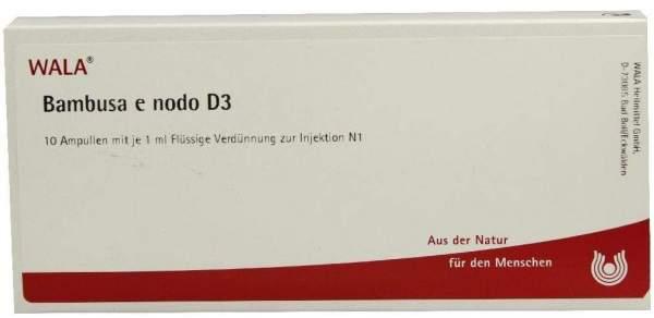 Bambusa E Nodo D 3 Ampullen 10 X 1 ml